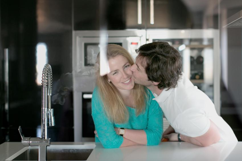 Ramón besando a Ana, Kutxi Pacheco, sesiones de fotos