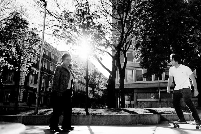 Foto de Madrid en b/n. Fotos artísticas de Madrid