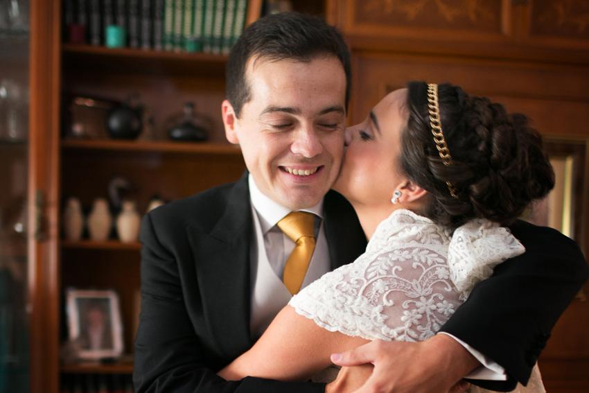 Un día lleno de emoción y agradecimiento. Reportaje de boda de Carmen y Eduardo