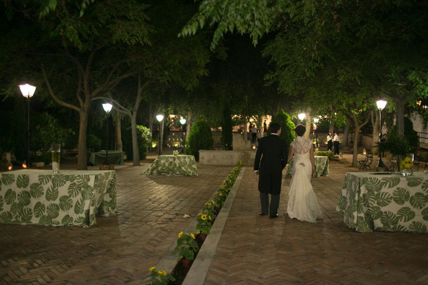 Imagen de los novios llegando a la fiesta, fotos de bodas