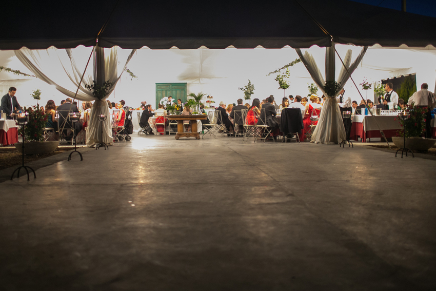 Imagen del salón de la celebración, fotos artísticas de bodas