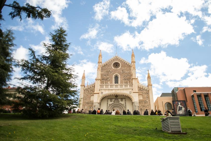 Iglesia de los Jerónimos. Reportaje de boda en el Casino de Madrid