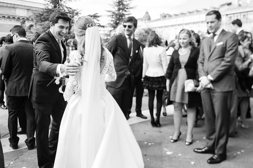 Imagen en b/n. Fotos de bodas