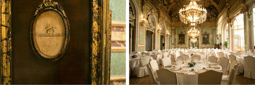Detalles del Casino de Madrid. Fotógrafo profesional en Madrid