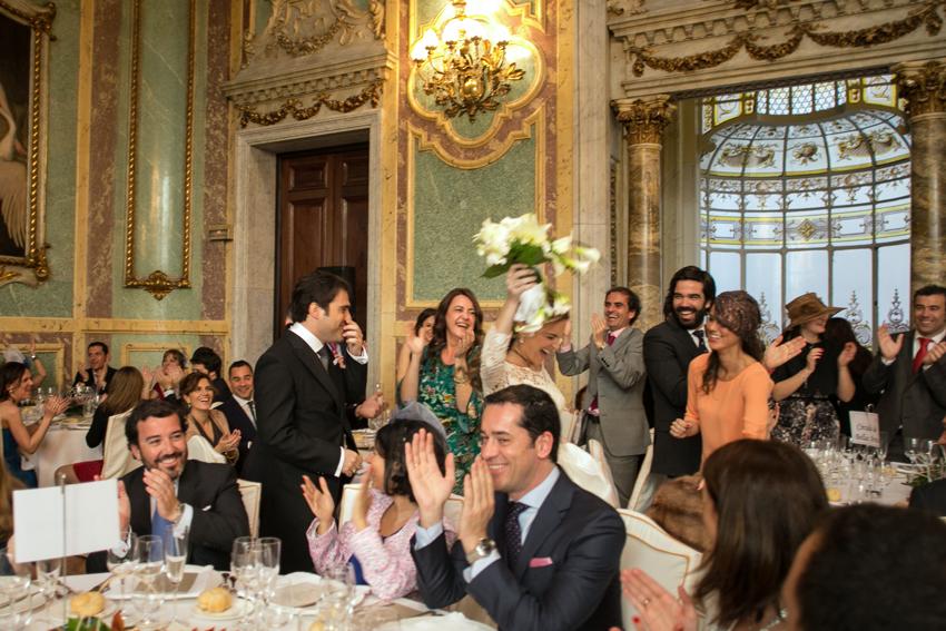 Imagen del salón. Fotos de bodas