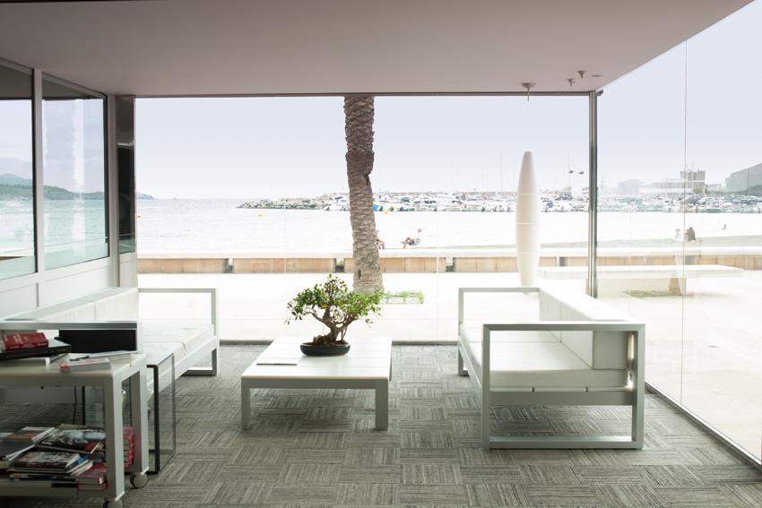 Interior restaurante Miramar