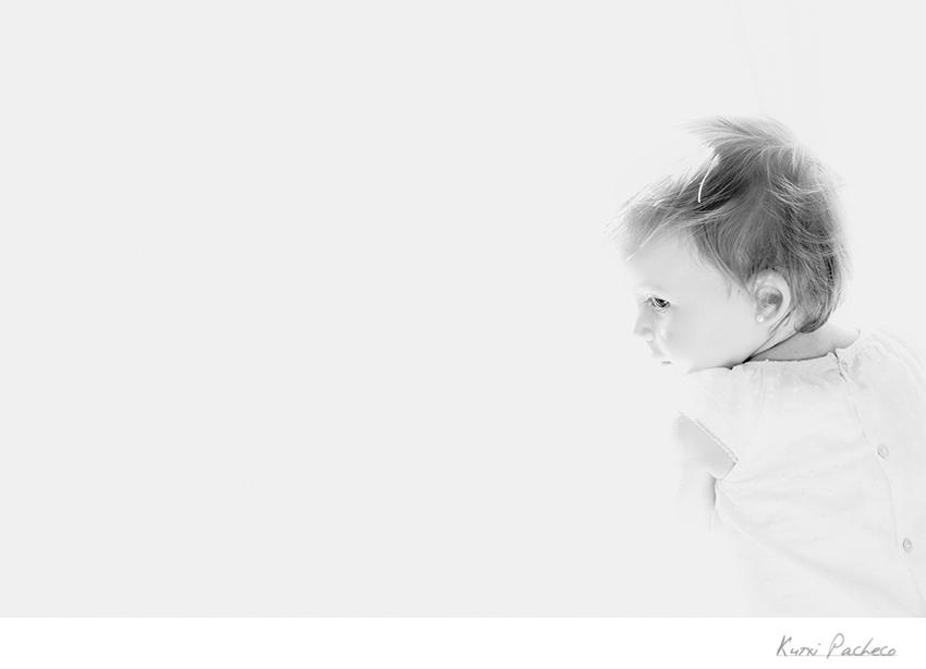 Fotografía infantil de Lola. Kutxi Pacheco