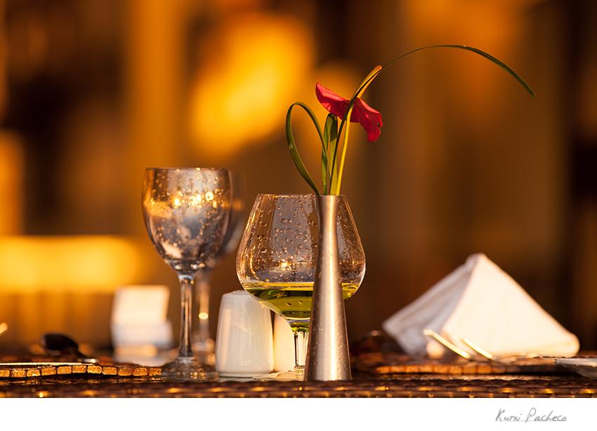 Detalle de la mesa de un restaurante. Kutxi Pacheco Fotografía