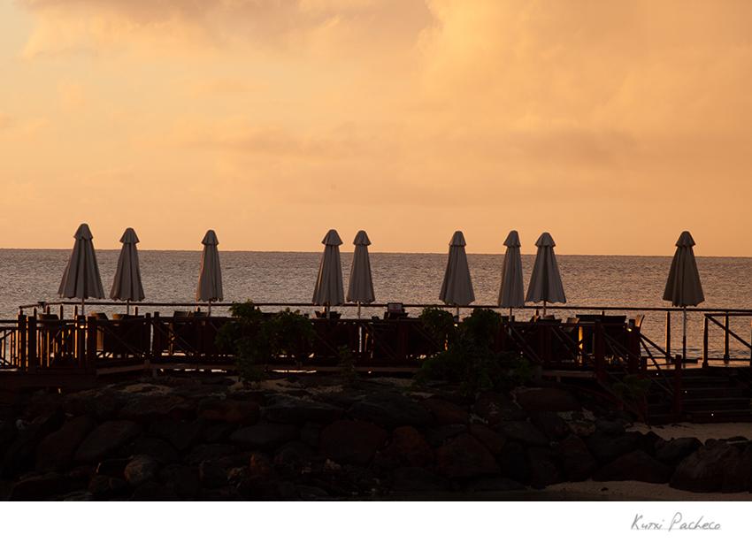Atardecer en Isla Mauricio. Kutxi Pacheco Fotografía