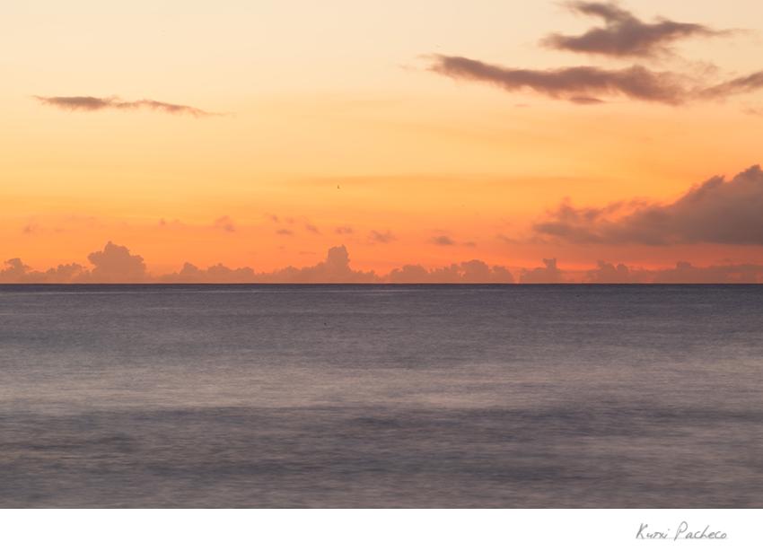 Preciosa vista desde Isla Mauricio. Kutxi Pacheco Fotografía