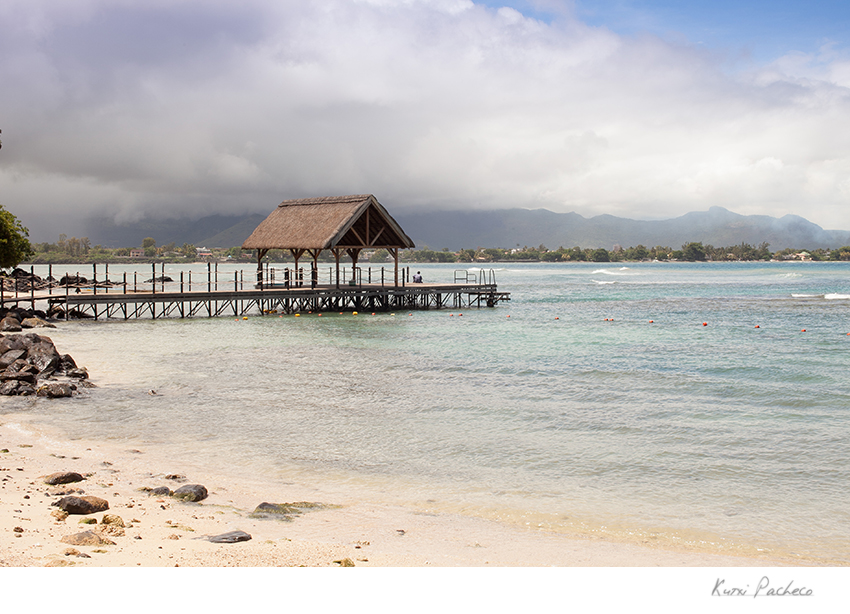 Small dock in Mauritius. Kutxi Pacheco Photography
