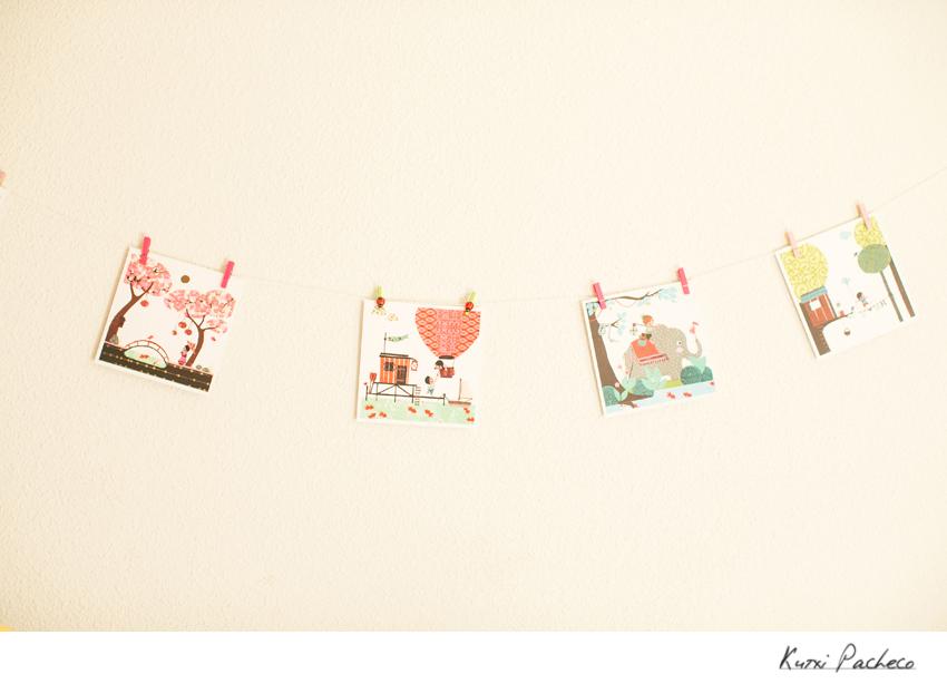 Decoración habitación bebé - Kutxi Pacheco Fotografía