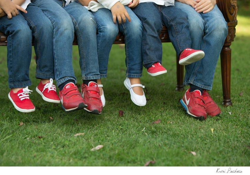 Fotos de los pies de los nietos de Marga. Kutxi Pacheco, fotógrafo infantil en Madrid