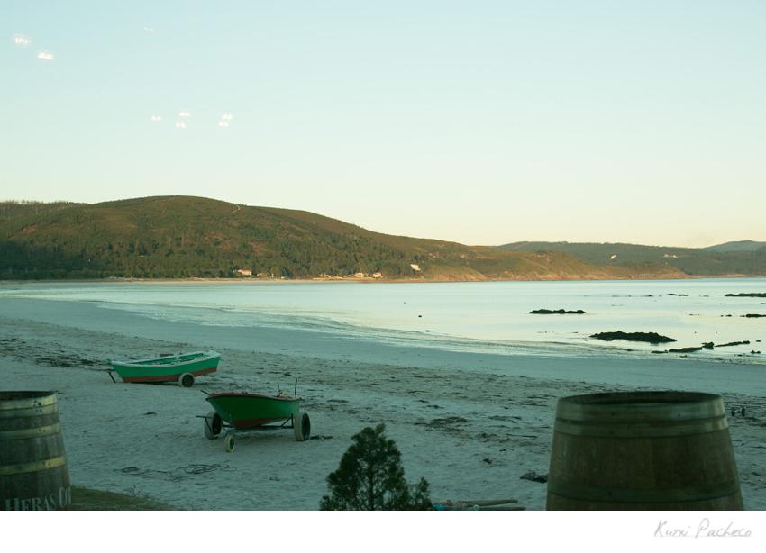 Foto de la playa en la Costa de la Muerte. Kutxi Pacheco Fotografía
